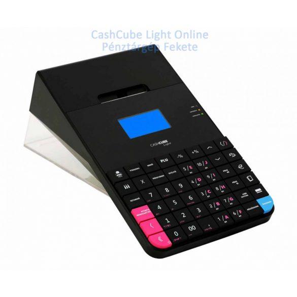 CashCube Light+ Fekete Online Pénztárgép